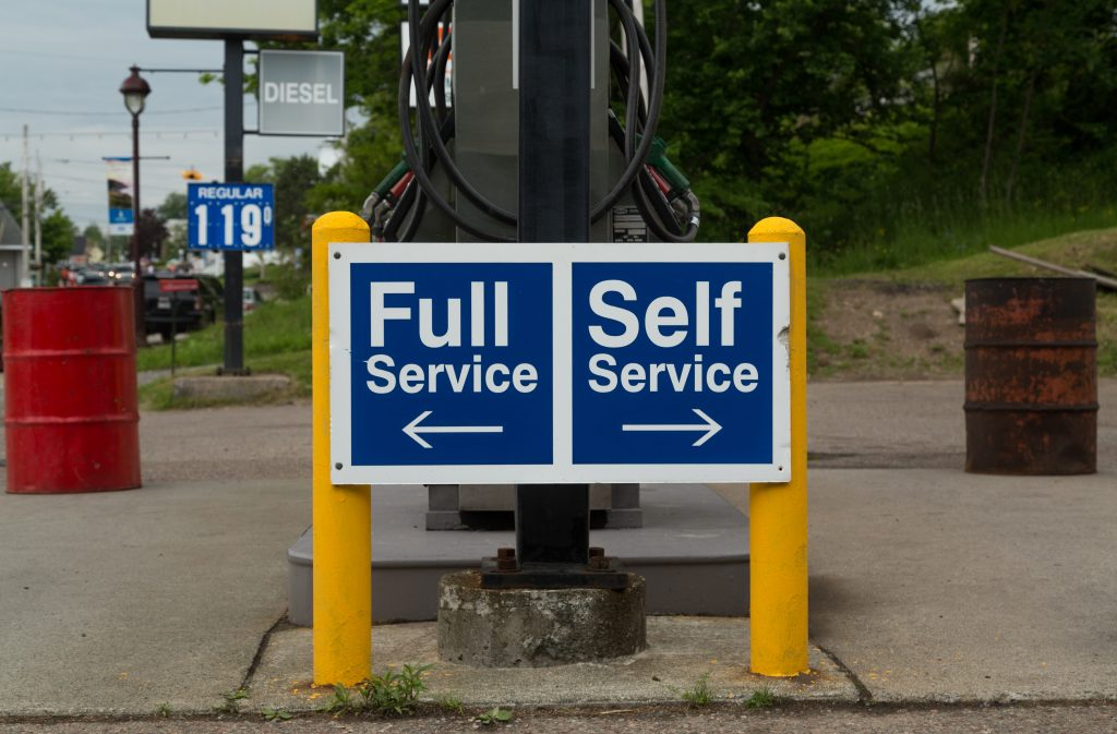 Remotely Monitored Self Service Outlets